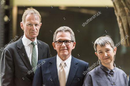 Sir Nicholas Serota, Lord John Browne, Frances Morris