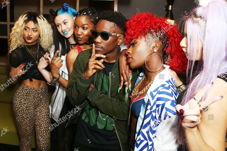 Stock Picture of Tinchy Stryder with Alien Uncovered