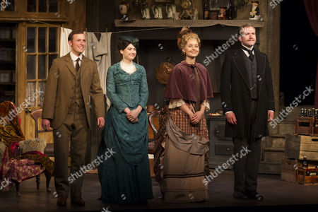 Stock Photo of Ryan Saunders, Gabrielle Dempsey, Florence Hall and Joe Bannister