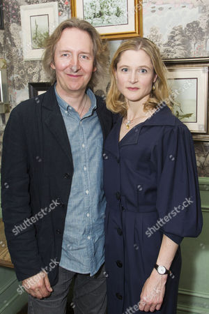 Stock Picture of Jonathan Church (Director) and Naomi Frederick (Maggie Hobson)