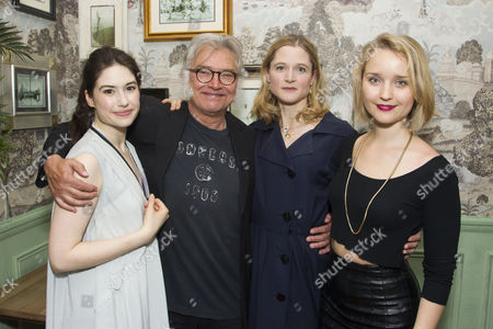 Gabrielle Dempsey, Martin Shaw, Naomi Frederick and Florence Hall