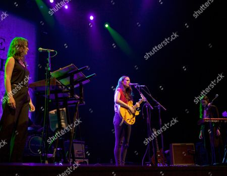 Stock Photo of The Staves - Emily Staveley-Taylor, Camilla Staveley-Taylor and Jessica Staveley-Taylor