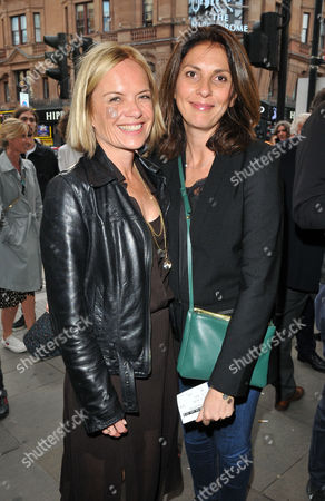 Mariella Frostrup and Gina Bellman