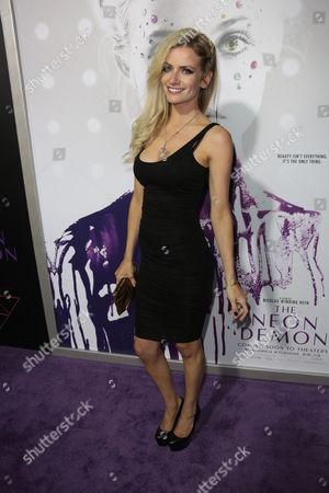Editorial photo of 'The Neon Demon' film premiere, Los Angeles, USA - 14 Jun 2016