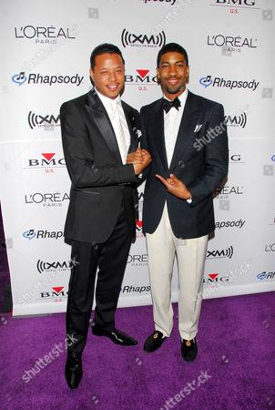 Terrence Howard and Farnsworth Bentley