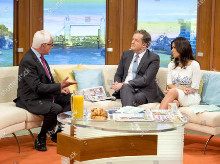 Alistair Darling with Piers Morgan and Susanna Reid