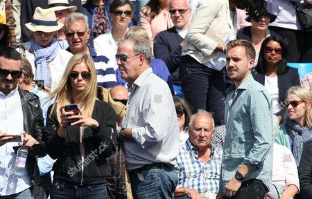 Jeremy Clarkson and Danielle Knudson