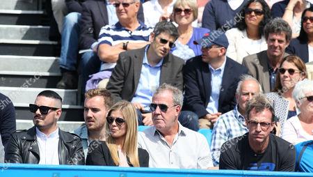 Jeremy Clarkson, Finlo Clarkson and Danielle Knudson