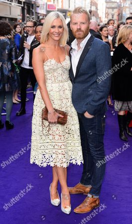 Jenni Falconer, James Midgley
