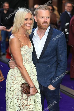 Jenni Falconer and James Midgley