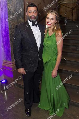 Irvine Iqbal (Sultan) and Michella Friedman