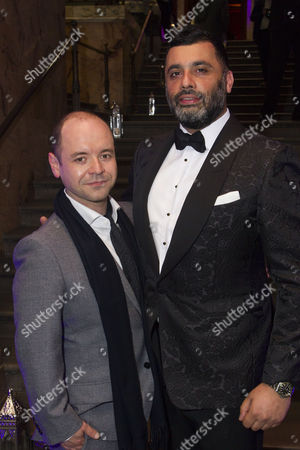 Peter Howe (Iago) and Irvine Iqbal (Sultan)