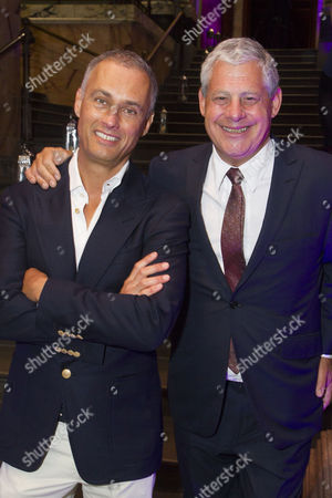 Michael Le Poer Trench and Cameron Mackintosh