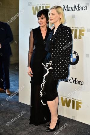 Hylda Queally and Cate Blanchett