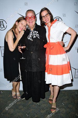 Paola Antonelli, Kim Hastreiter, and Keira Alexandra