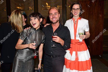 Tracy Ma, Philippe Meunier, and Keira Alexandra