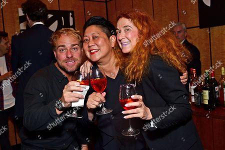 Philippe Meunier, Noreen Morioka, and Danny Lennon