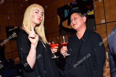 Elizabeth Valleau and Noreen Morioka