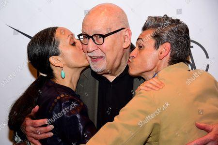 Isabel Toledo, George Lois, and Ruben Toledo