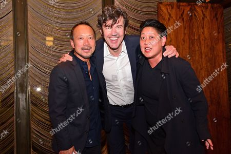 Robert Wong, Stefan Sagmeister, and Noreen Morioka