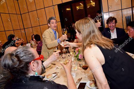 Editorial image of Art Directors Club Young Guns Dinner, New York, USA - 15 Jun 2016