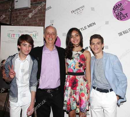 Theo Taplitz, Mauricio Bustamante, Madison Wright and Michael Barbieri