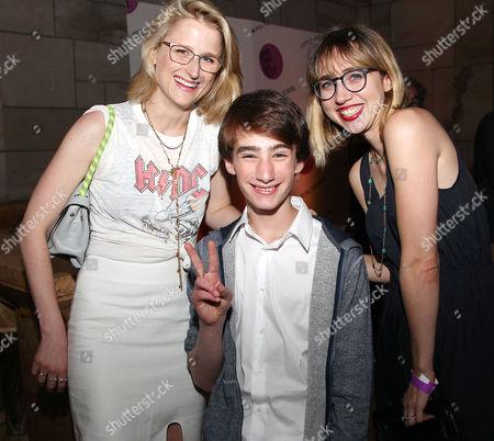 Mamie Gummer, Theo Taplitz and Zoe Kazan