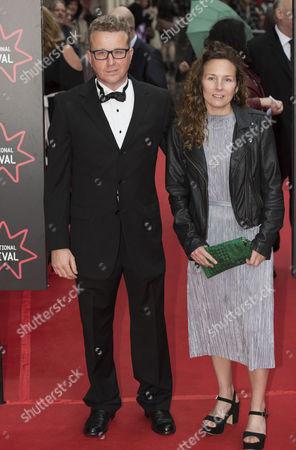 Rebecca Mark-Lawson and partner