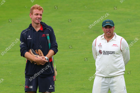 Leicestershire Elite Performance Director Andrew McDonald (L) and captain Mark Cosgrove during Essex CCC vs Leicestershire CCC, Specsavers County Championship Division 2 Cricket at the Essex County Ground on 22nd June 2016