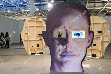 Tony Oursler, Template / variant / friend / stranger, 2014