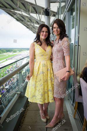 Eleni Renton and Amy Berry