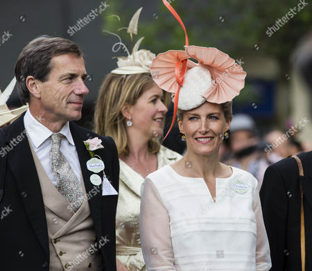 Patrick McGrath and Sophie Countess of Wessex