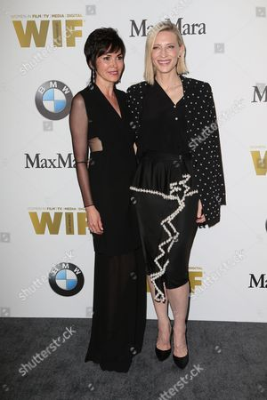 Editorial photo of Women In Film Crystal and Lucy Awards, Arrivals, Los Angeles, USA - 15 Jun 2016