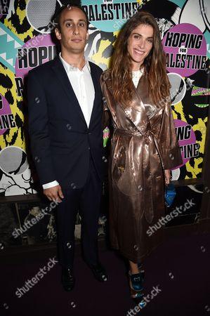Alex Dellal and Elisa Sednaoui