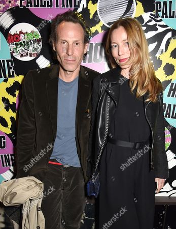 Marlon Richards and Lucie de la Falaise