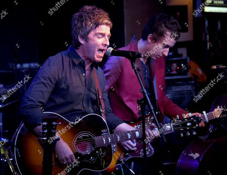 Noel Gallagher and Jeff Wootton