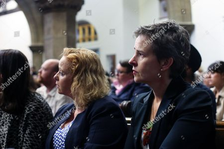 Labour MP Mary Creagh at a vigil in St Peters Church in the town of Birstall, West Yorkshire, where Labour MP Jo Cox was shot and killed earlier today. Jo Cox was holding her weekly advice surgery at the time of the attack in her constituency of Batley and Spen in West Yorkshire.