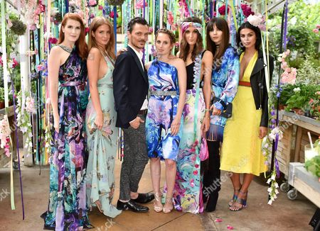 Amber Venz Box, Millie Mackintosh, Matthew Williamson, Rosie Fortescue, Rosanna Falconer, Doina Ciobanu and Katie Keight