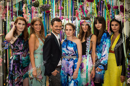 Editorial picture of Matthew Williamson x LIKEtoKNOW.it Summer Party at Clifton Nurseries, London, UK - 16 Jun 2016