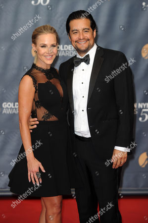 Stock Picture of Julie Benz, Rich Orosco
