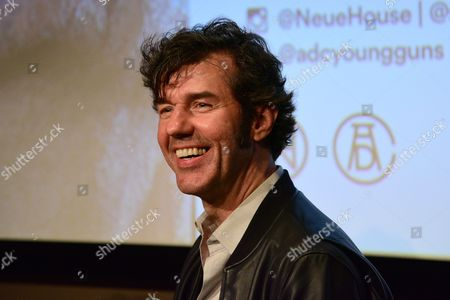 Stefan Sagmeister Q&A at the Art Directors Club 'The Happy Film' screening at NeueHouse Madison Square, New York, June 16.