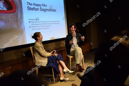 Editorial image of 'The Happy Film' documentary screening, After Party, New York, USA - 16 Jun 2016
