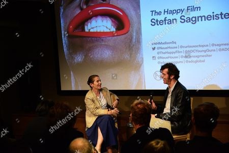 Editorial photo of 'The Happy Film' documentary screening, After Party, New York, USA - 16 Jun 2016