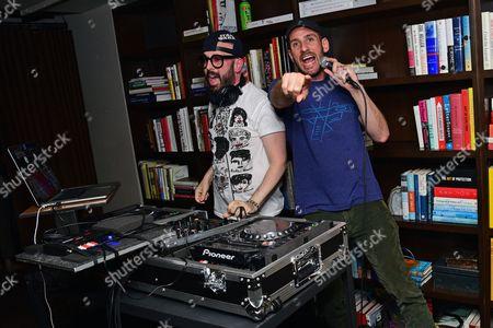 Stock Image of Dan Konopka and Tim Nordwind of Xia Xia Technique