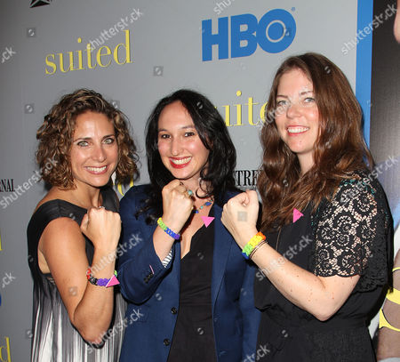 Stock Image of Stacy Reiss, Carly Hugo and Ericka Naegle (Producers)