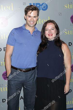 Andrew Rannells and Zuzanna Szadkowski
