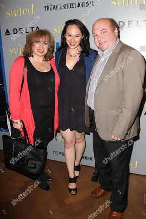 Carly Hugo with parents