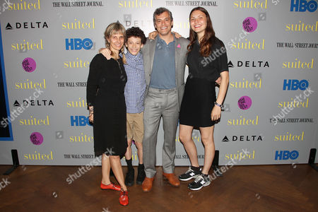 Stock Image of Jason Benjamin and Family