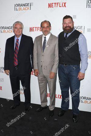 Michael Harney, Nick Sandow, Brad William Henke