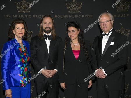 Queen Silvia, Max Martin, Cecilia Bartoli, King Carl Gustaf